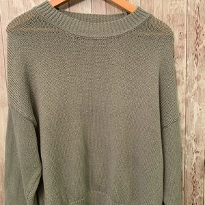 Green sweater H&M